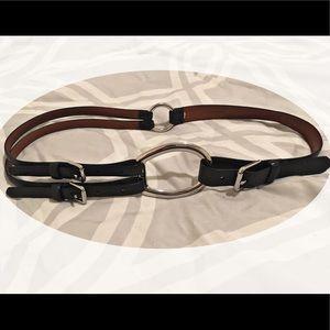 Women's Equestrian T-strap Belt